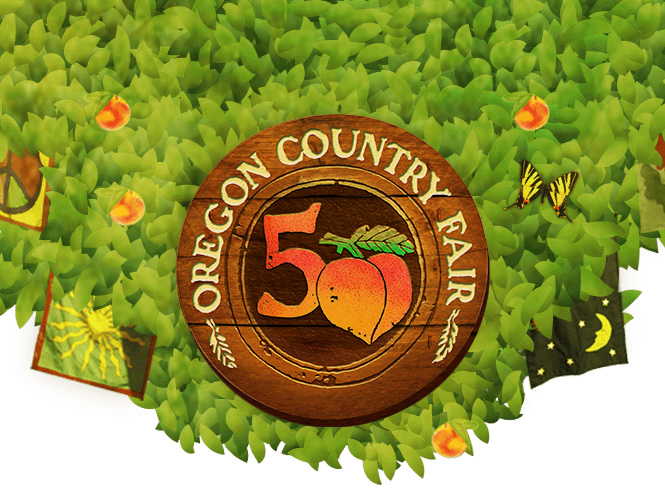 Oregon Country Fair logo