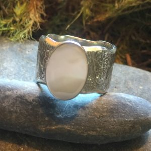 Saucy Jewelry Earthly connection ring with large gemstone