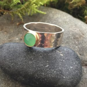 ease ring by Saucy Jewelry