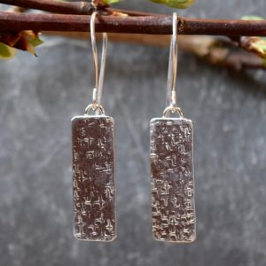 simplicity sterling silver earrings