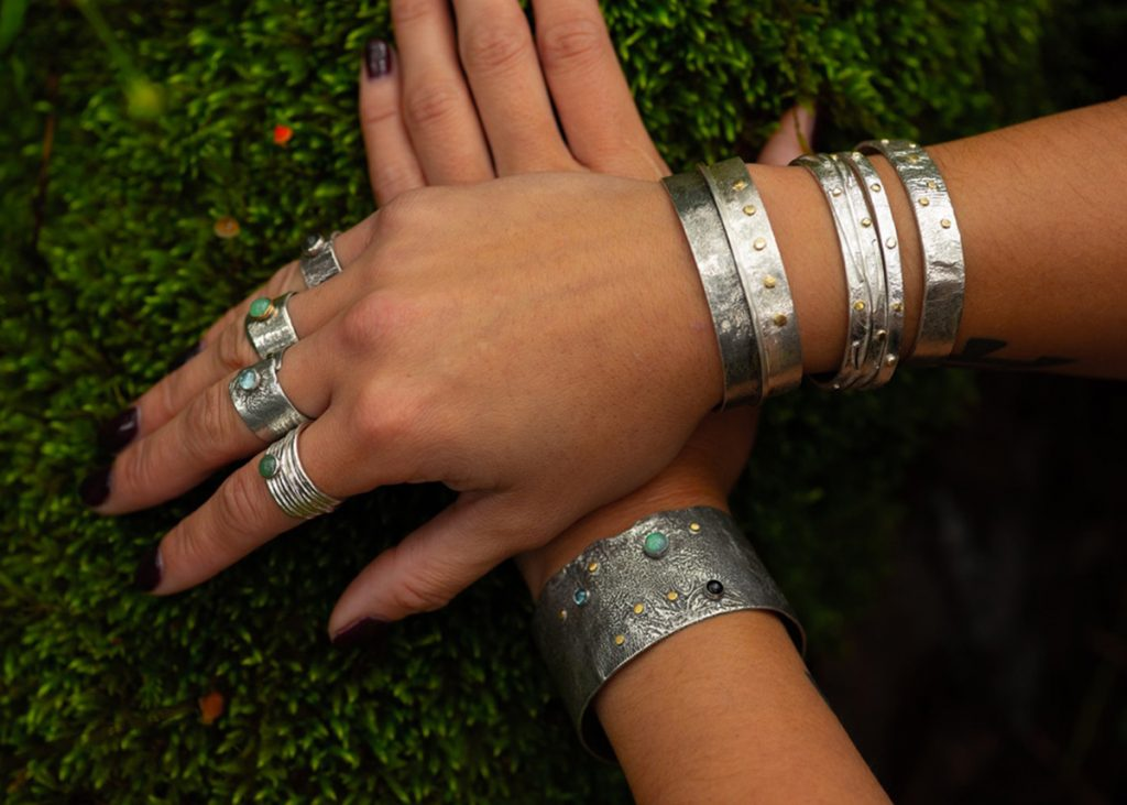 Saucy Jewelry | sterling silver rings and bracelets