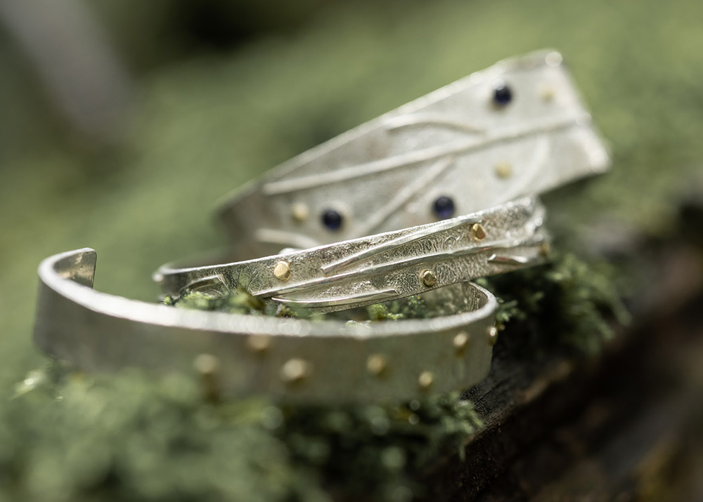 Saucy Jewelry sterling silver cuffs